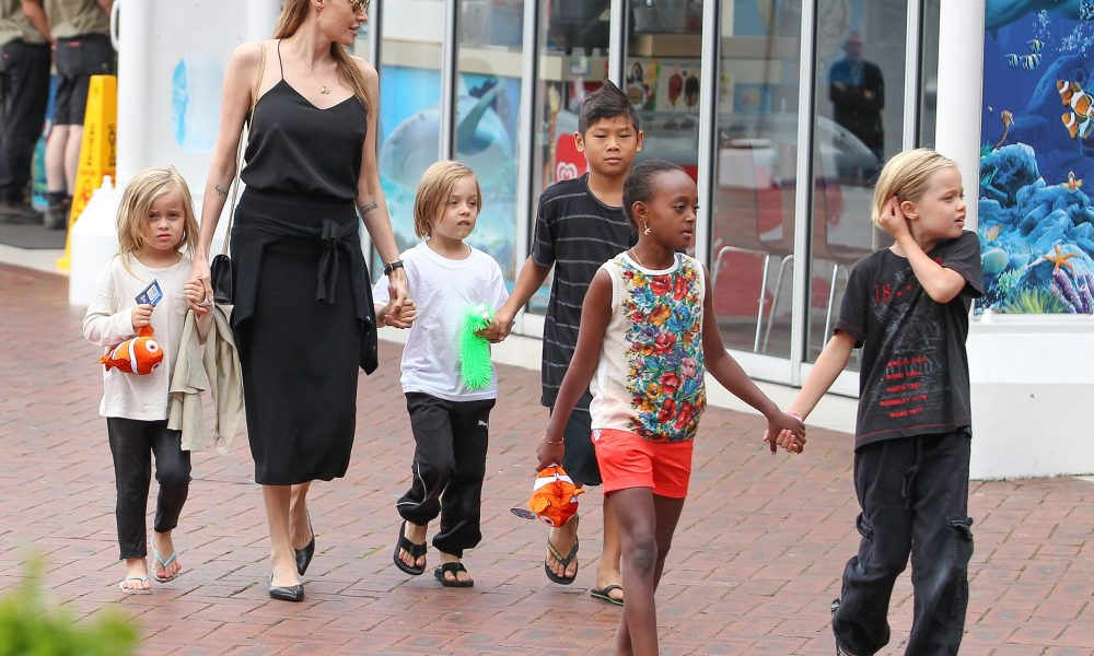 Angelina Jolie's 15 Parenting Rules