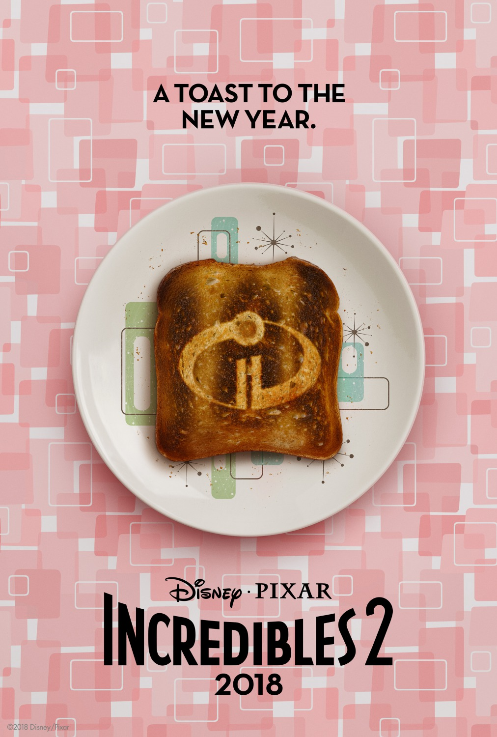 1 incredibles 2 top movie posters of 2018