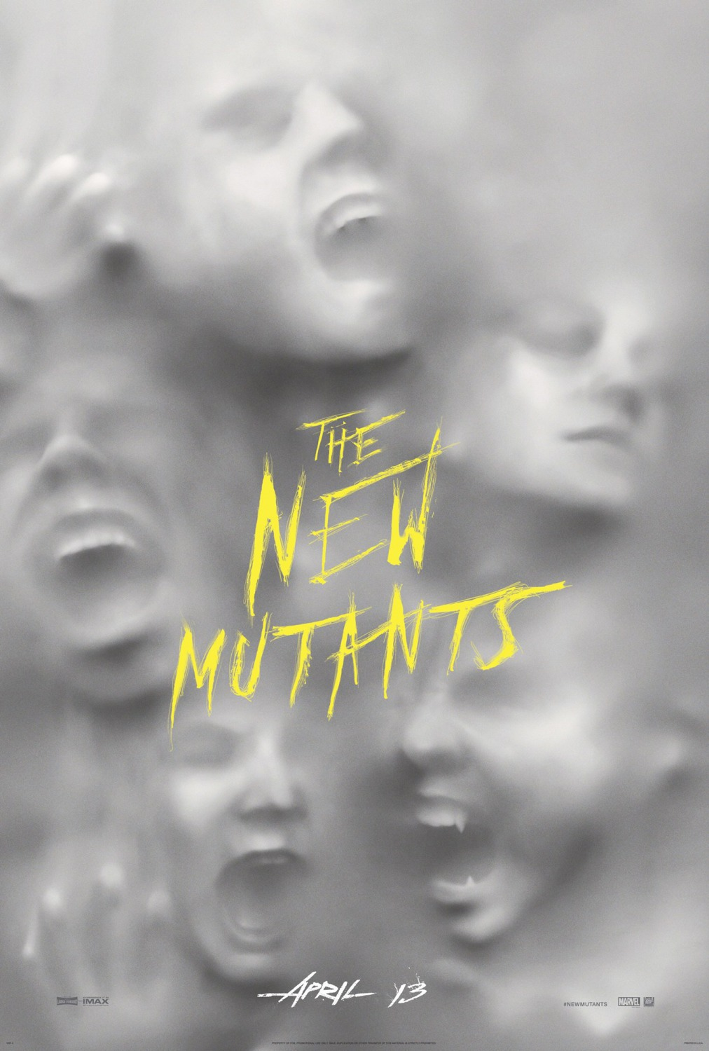 1 the new mutants top movie posters of 2018