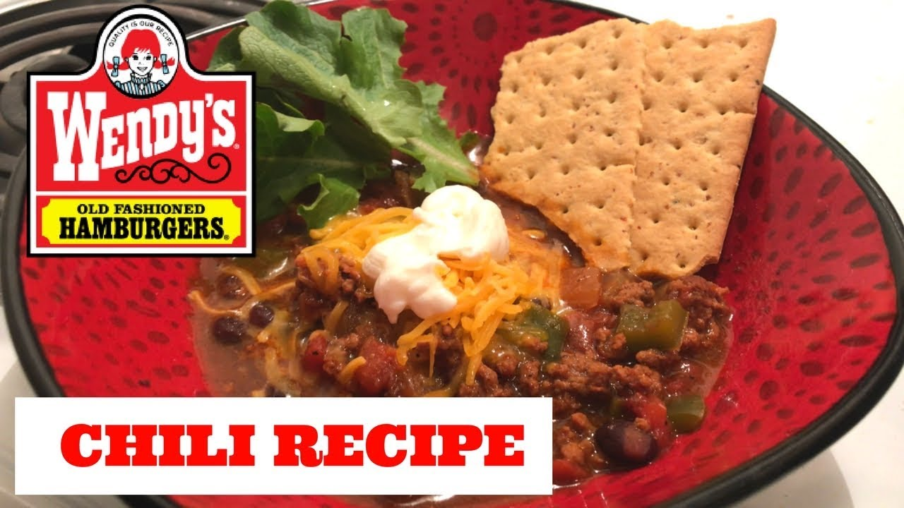 10 wendys chili top things not to order