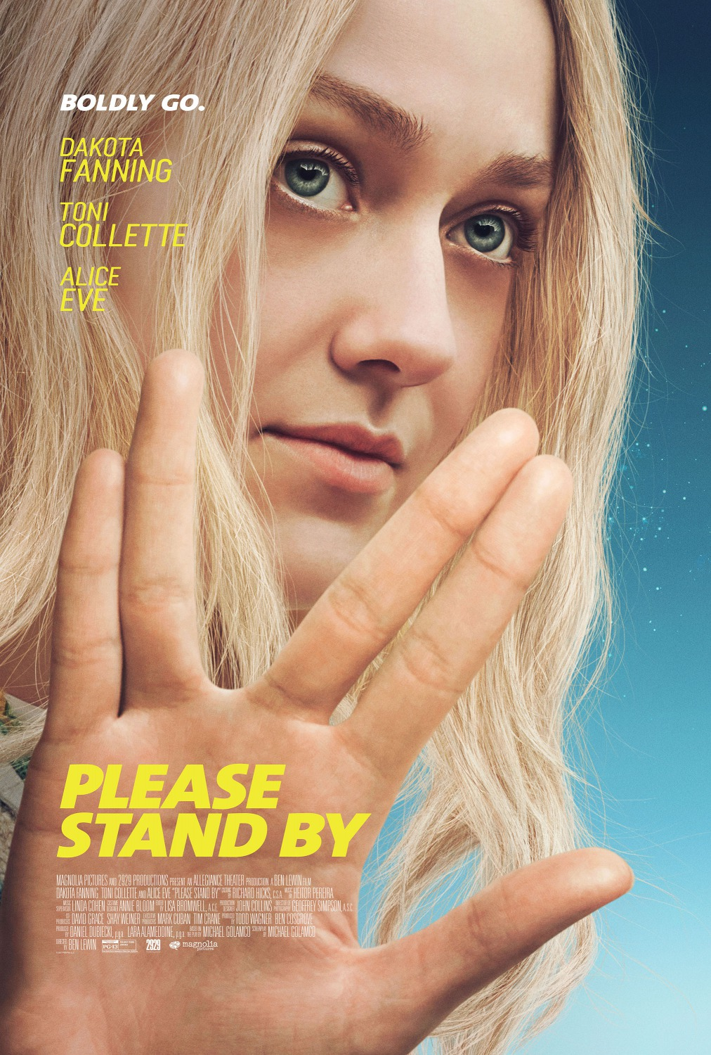 11 please stand by movie poster