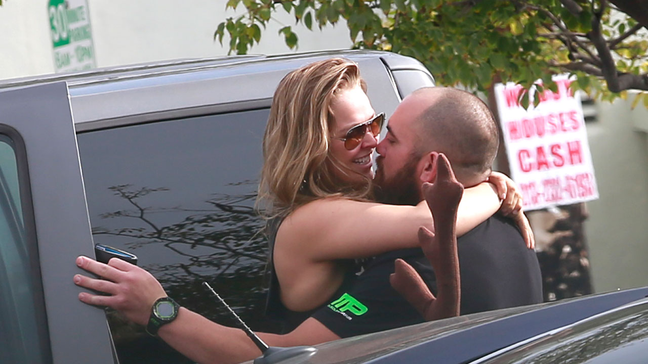 Rousey and her man
