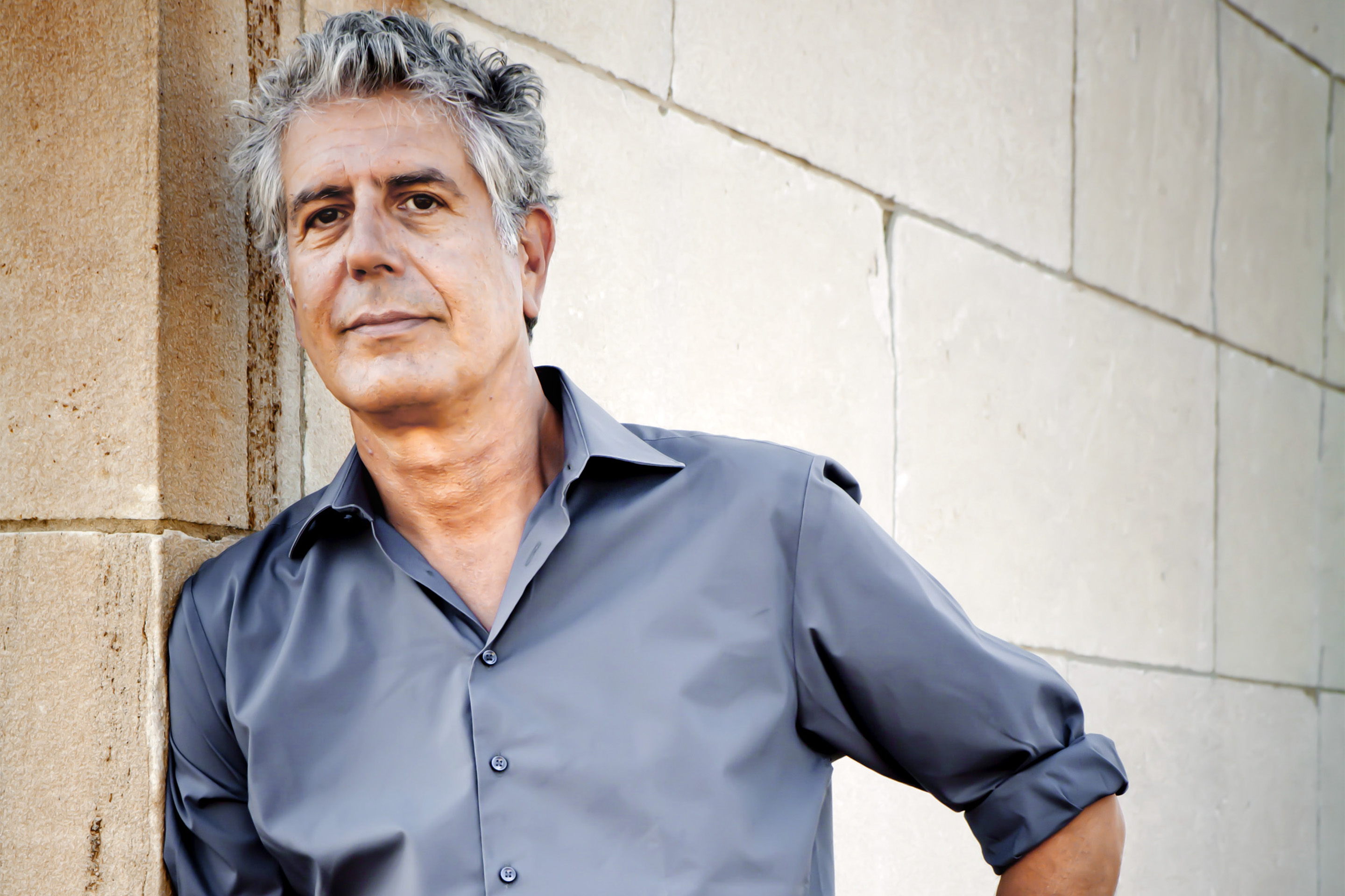 Travel Channel promo shoot for Anthony Bourdain Layover in New York