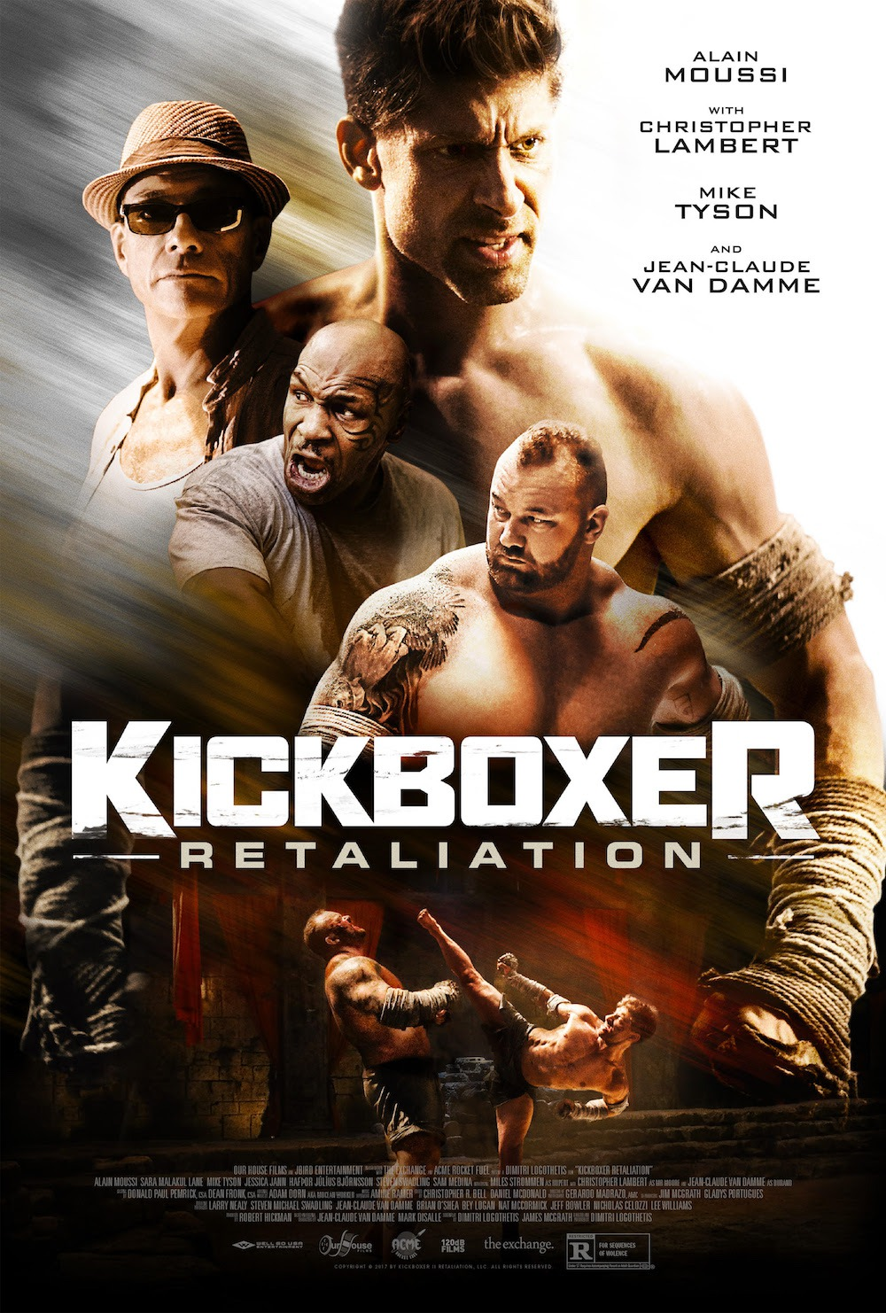 19 Kick boxer top 25 movie posters of 2018