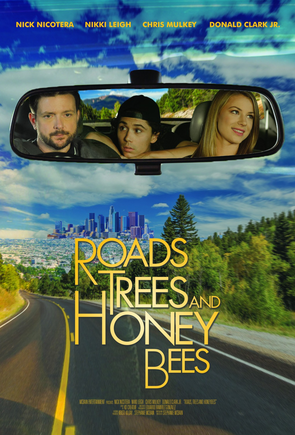roads trees and honey bees movie poster