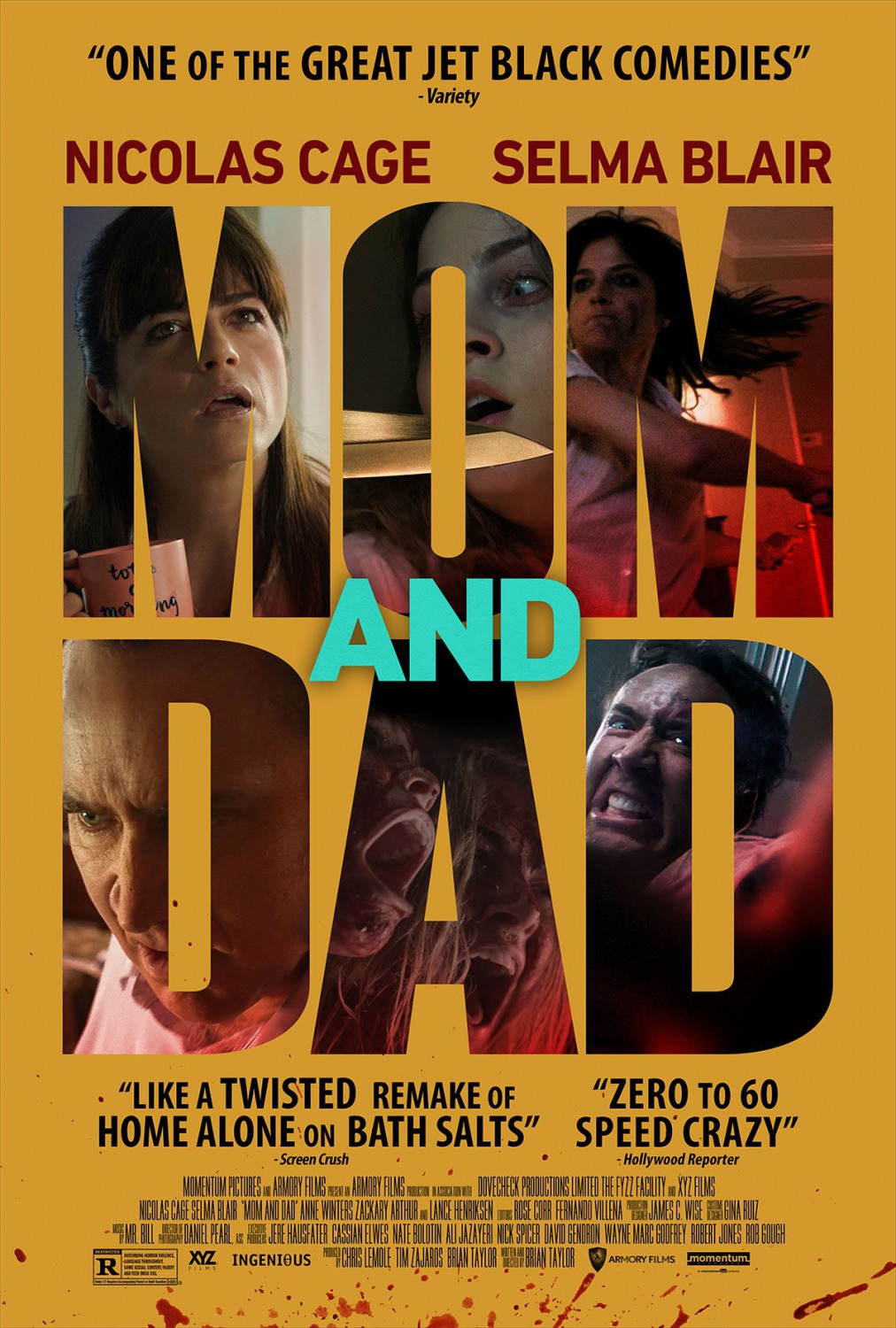 2 top movie posters of 2018 mom and dad