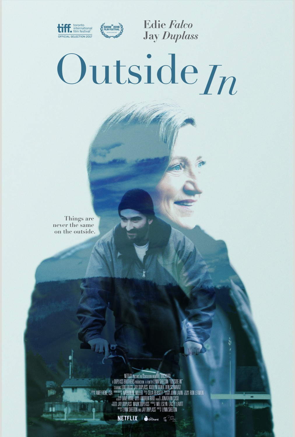 21 outside in movie poster