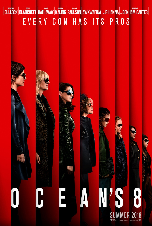 23 oceans 8 top movie posters