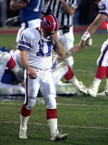25 the first of four consecutive super bowl losses by the Bills