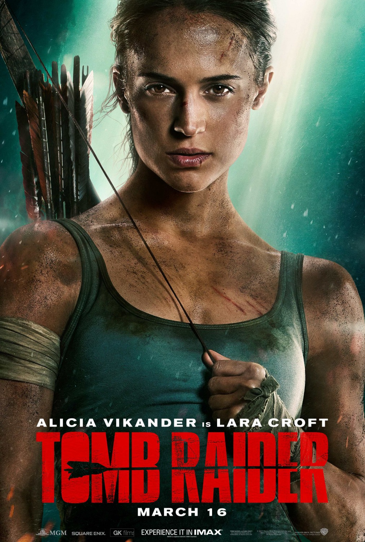 25 tomb raider movie poster