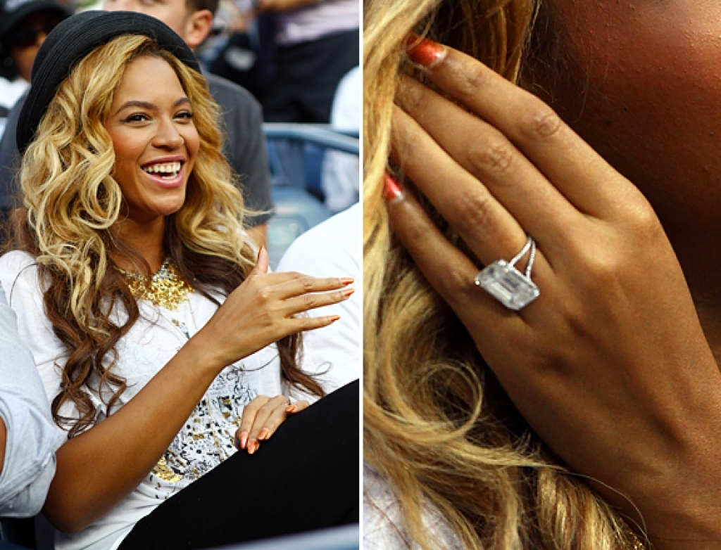 8 Most Stunning Celebrity Engagement Rings Wedding with regard to