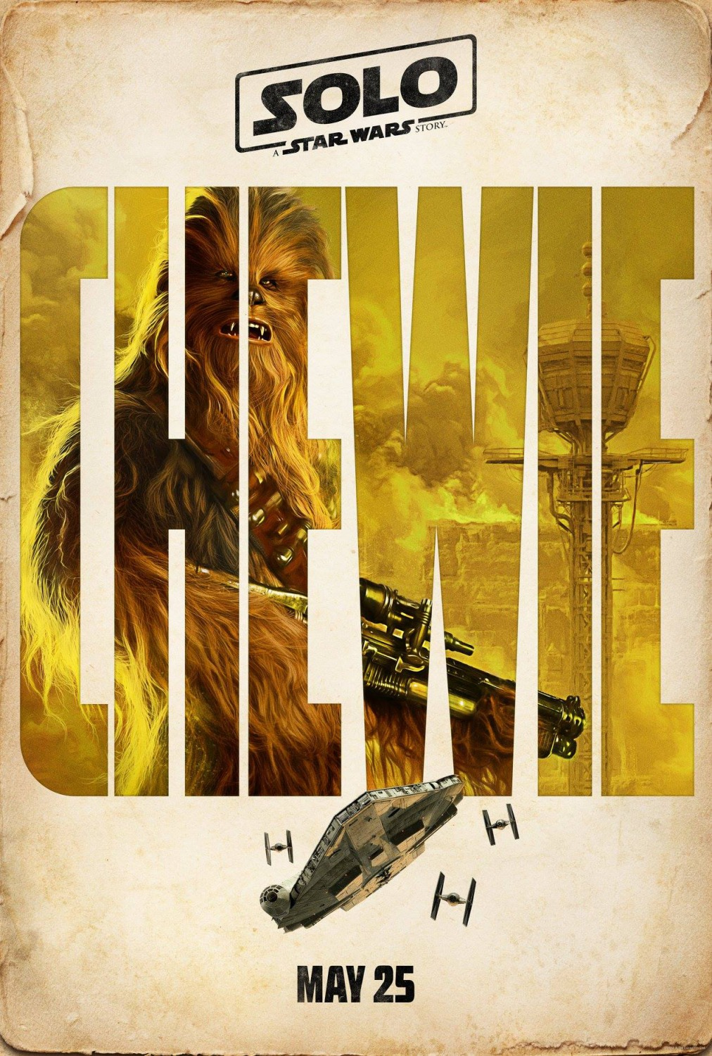 38 solo poster chewie version