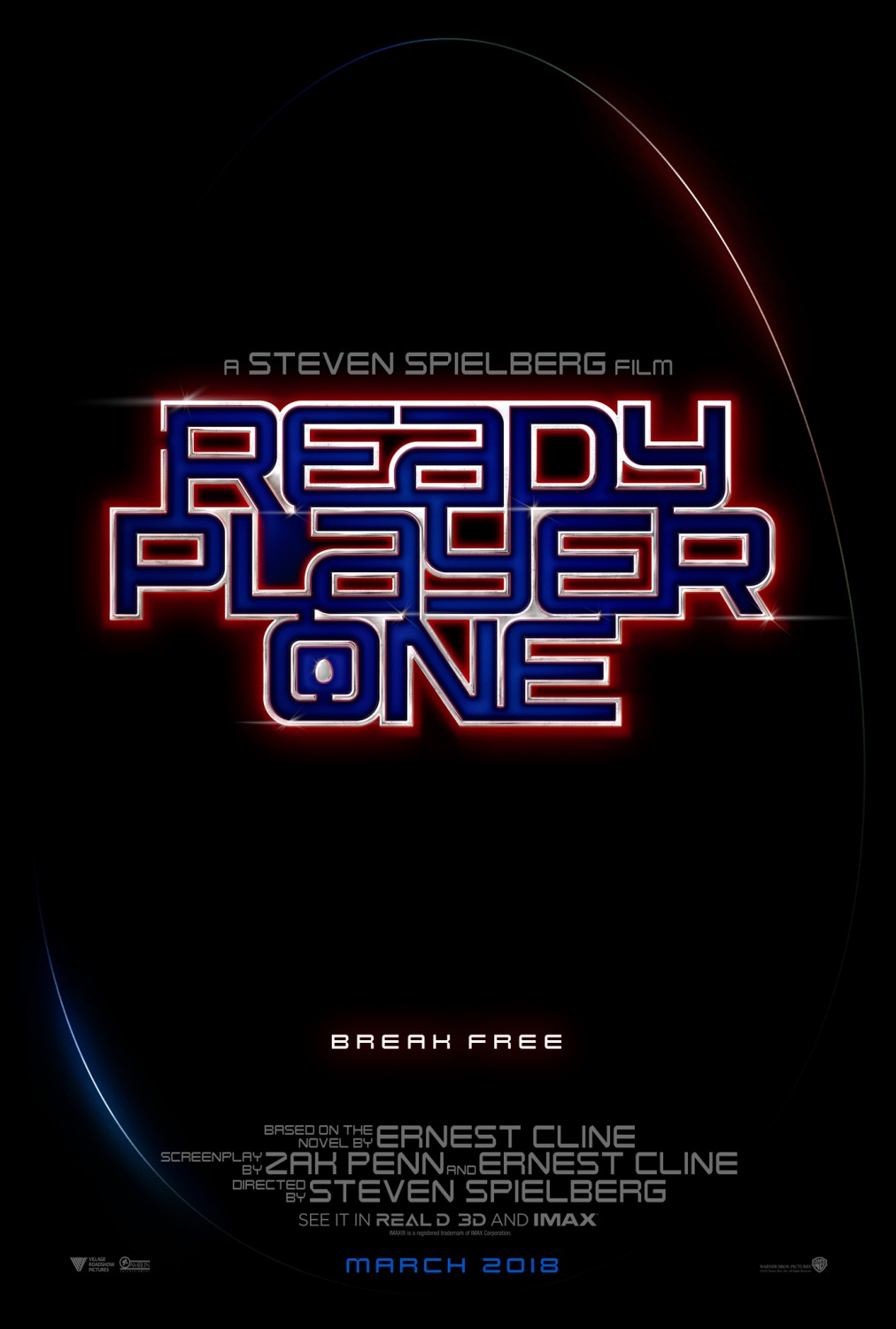 5 ready player one movie poster