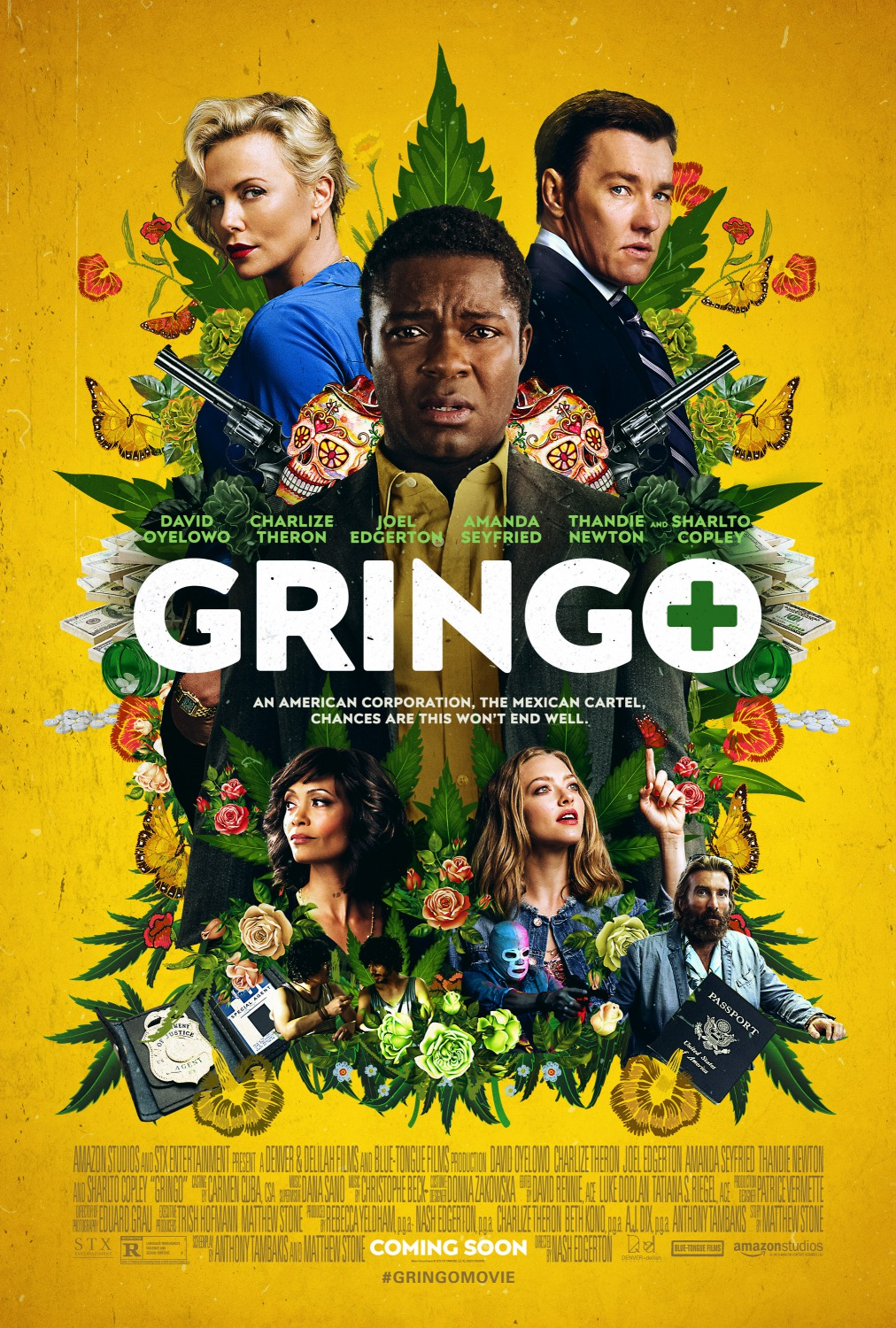 7 gringo top 25 movie posters of 2018
