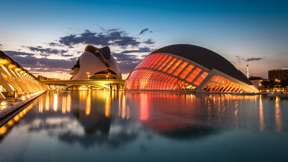 City-of-Arts-and-Sciences-in-Valencia-Spain-Wallpaper