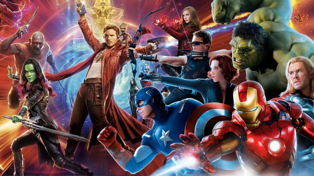 avengers infinity war guardians of the galaxy