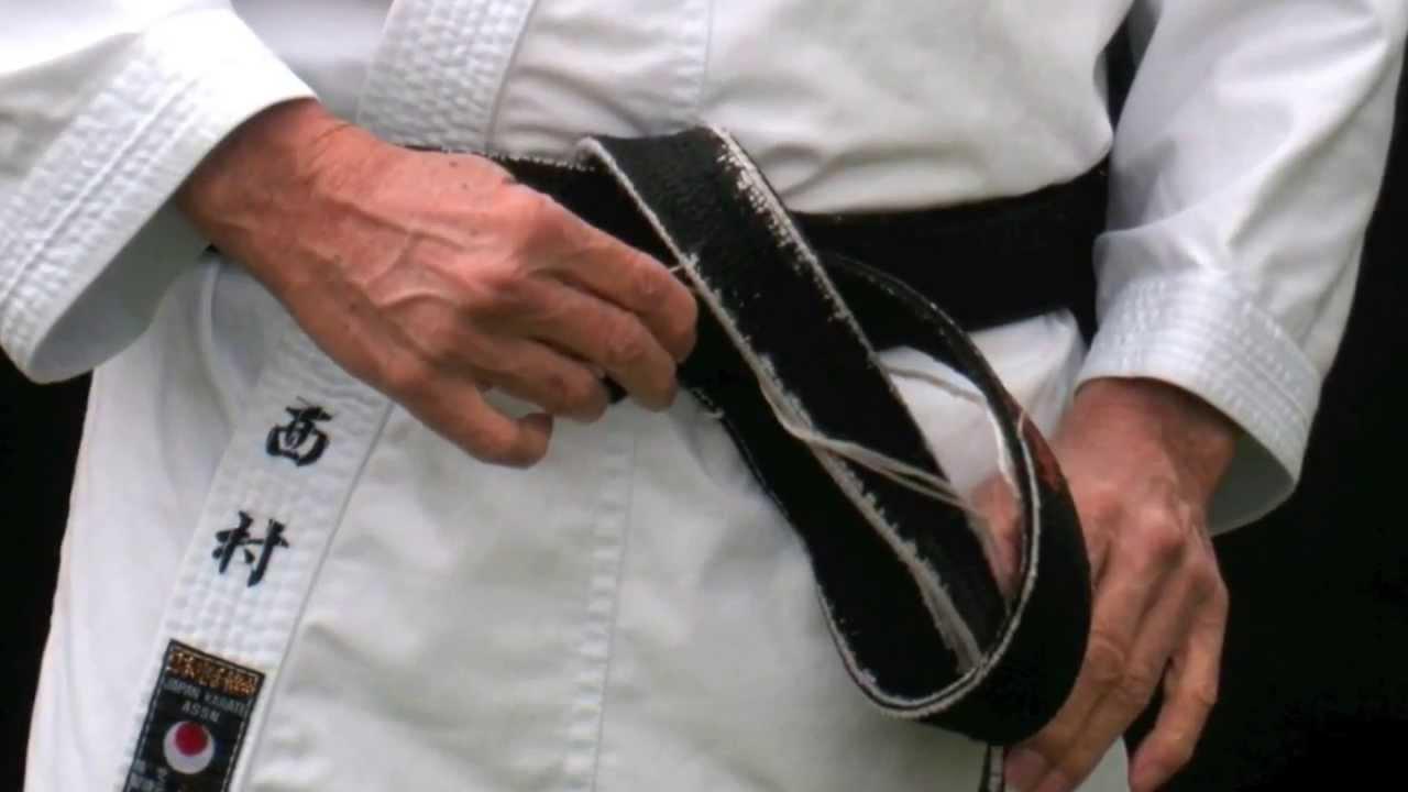 black belt karate gordon ramsay