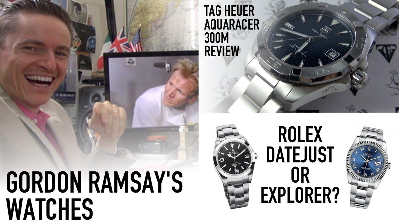 gordon ramsays watch rolex