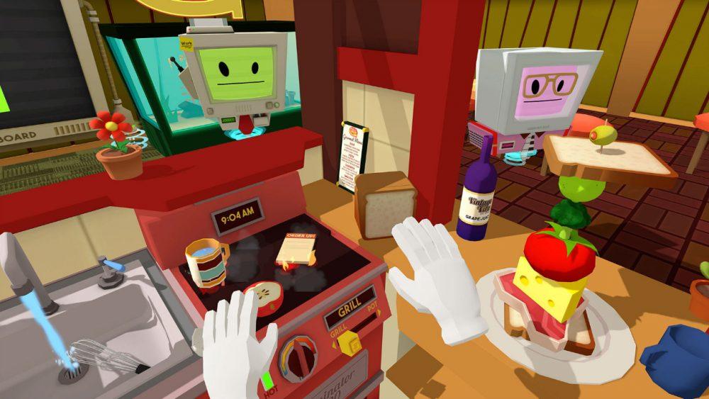job simulator VR gourmet chef game