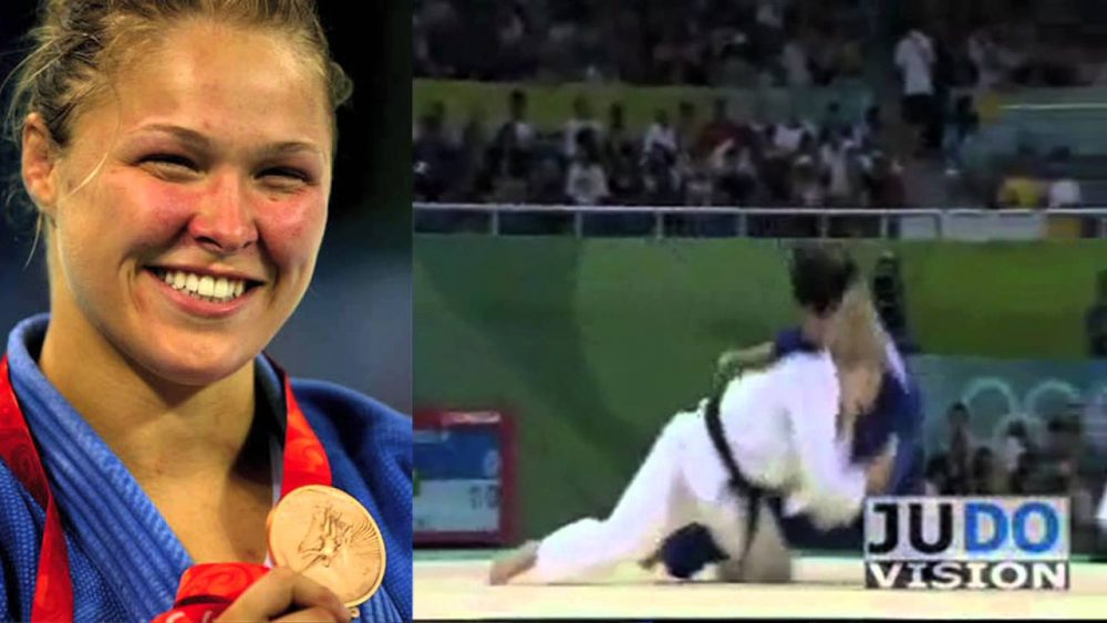 Rousey won a Bronze medal