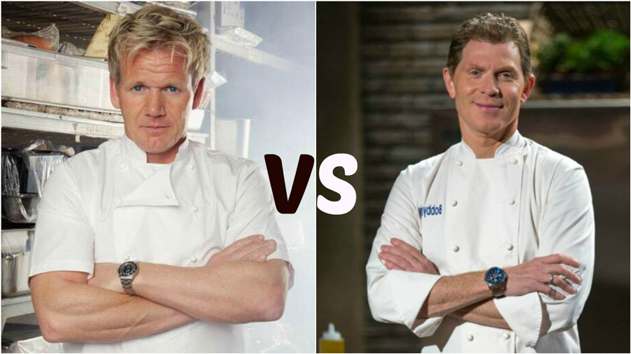 gordon ramsay vs bobby flay