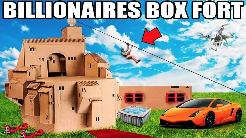 billionaires box fort