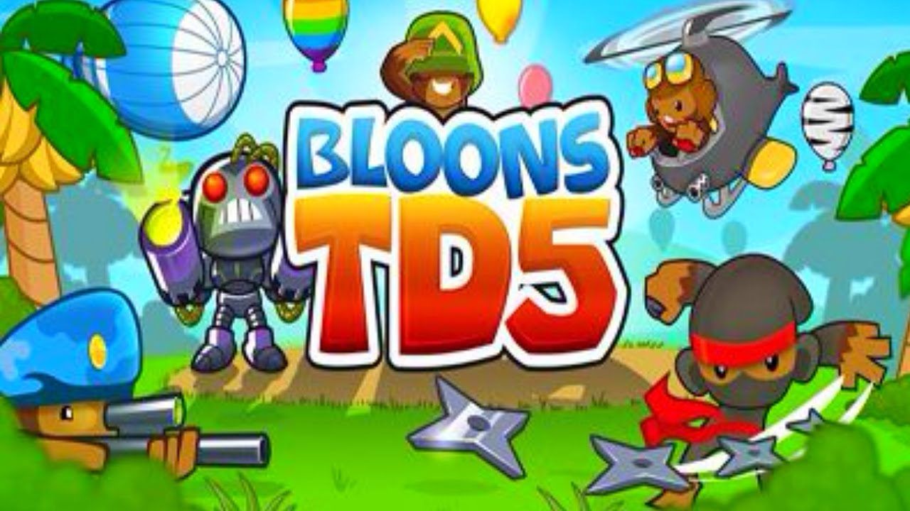 bloons td 5 top 10 tower defense games