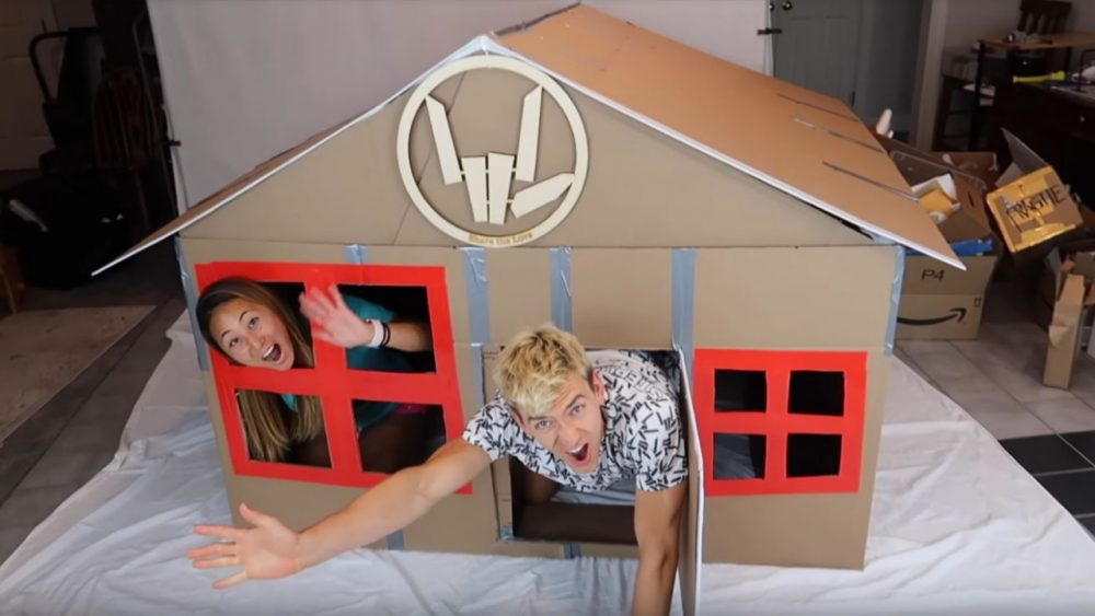 10 Coolest Box Fort Videos Babbletop