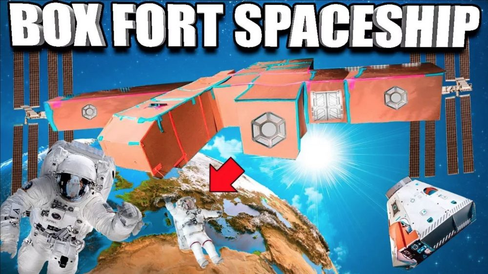 box fort spaceship