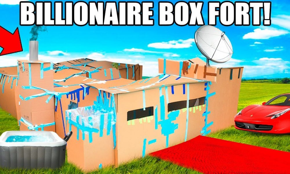 Top 10 Coolest Box Forts