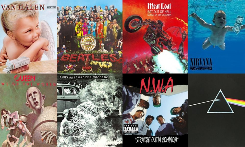 Top 10 Coolest Album Covers Of All Time