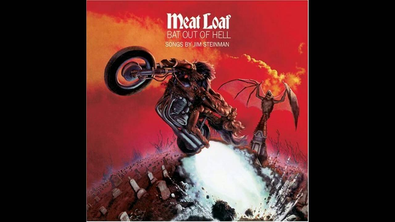 coolest album covers bat out of hell