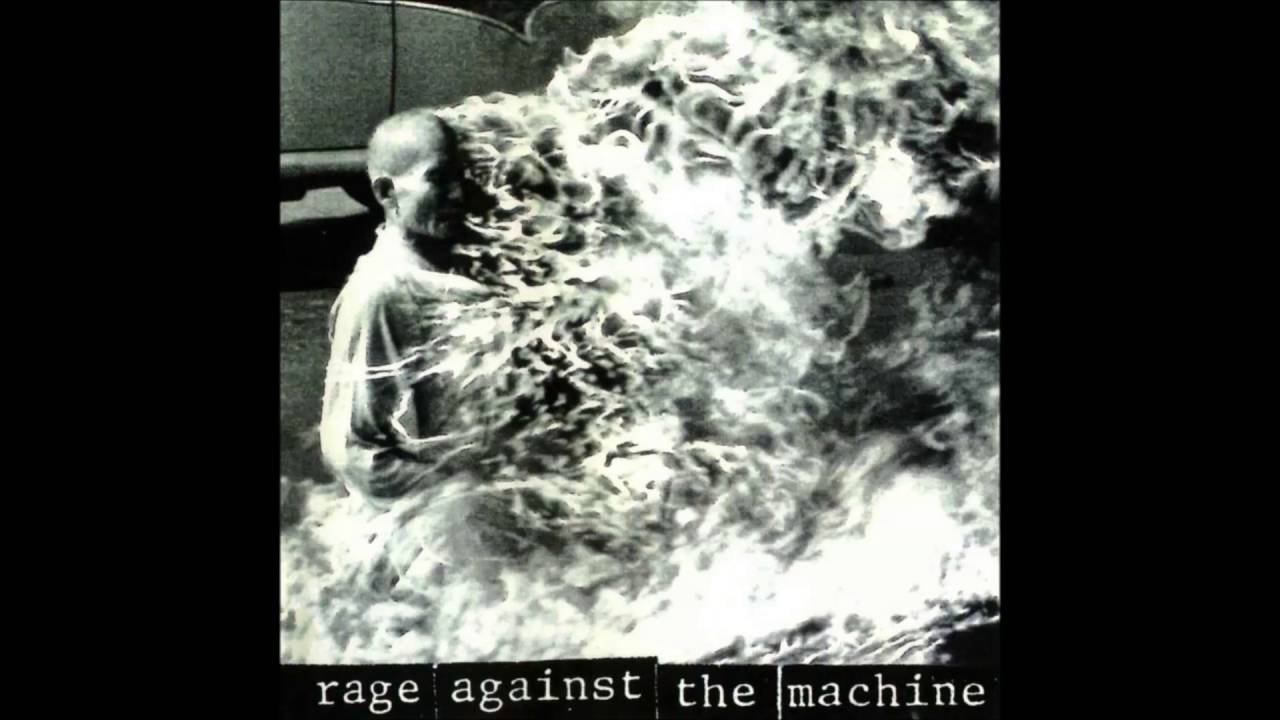 coolest album covers rage against the machine