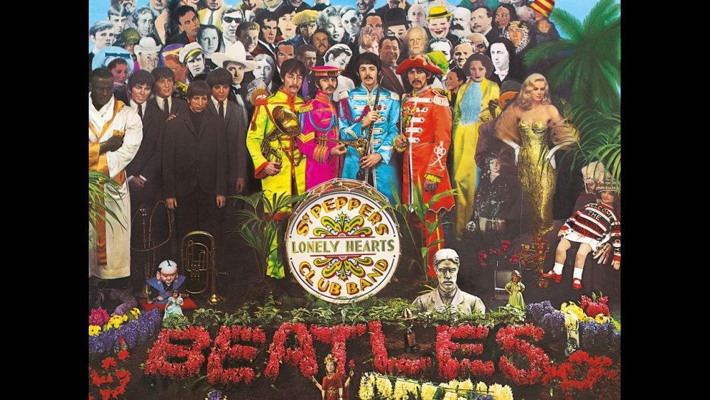 coolest album covers sgt pepper