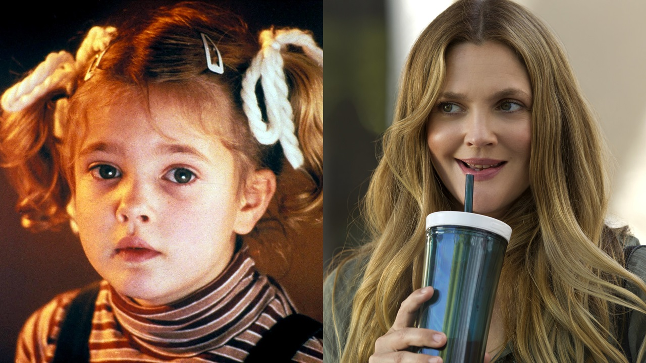famous child actors drew barrymore