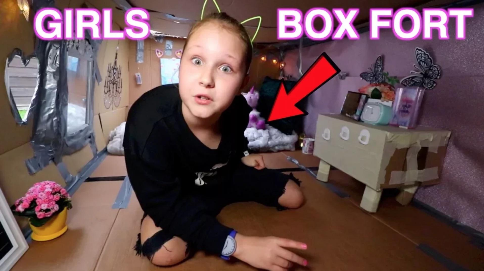 girls box fort
