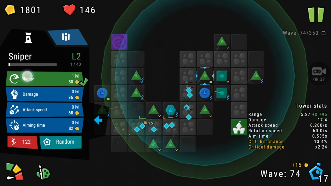 infinitode top 10 tower defense games