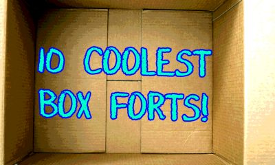 inside of box 10 collest box forts