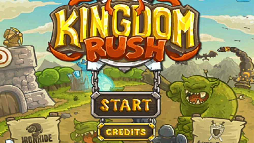 kingdom rush top 10 tower defense gam