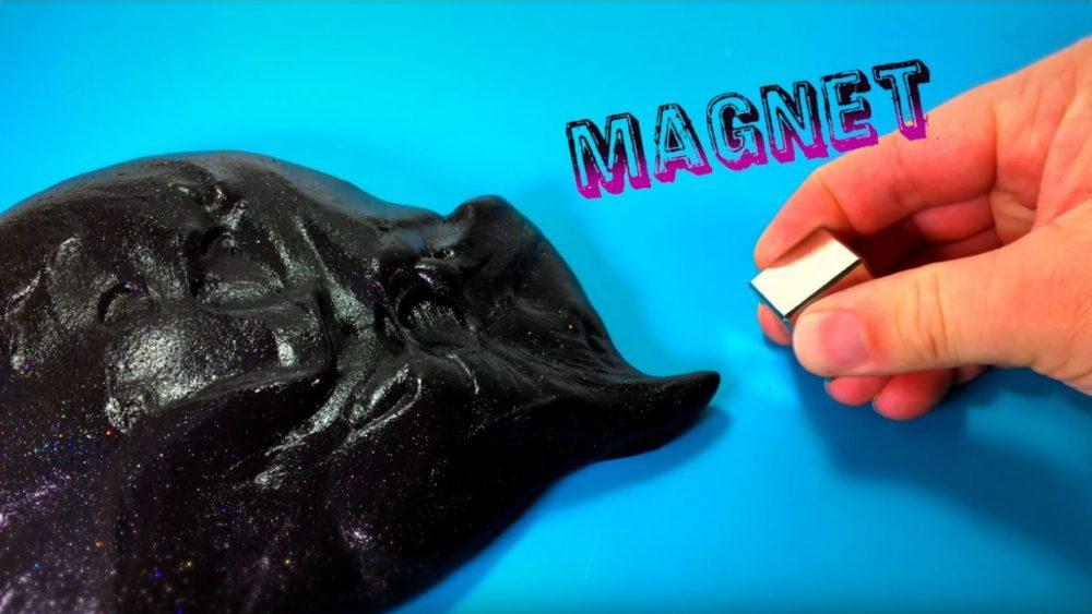 black galaxy magnetic slime