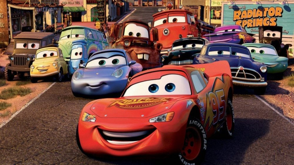 pixar movies cars