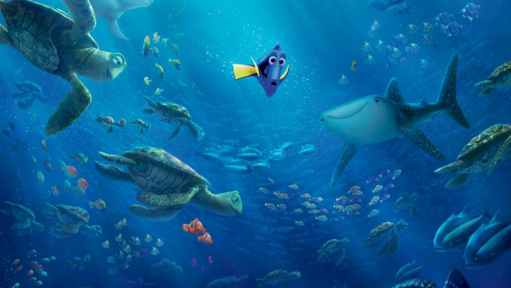 pixar movies finding dory