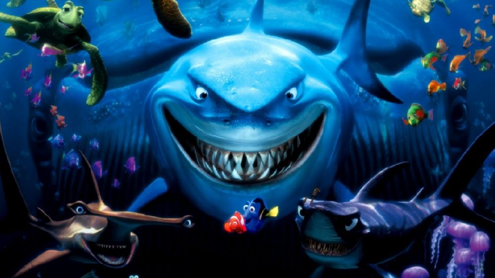 pixar movies finding nemo