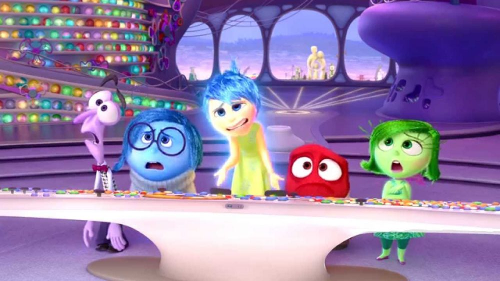 pixar movies inside out