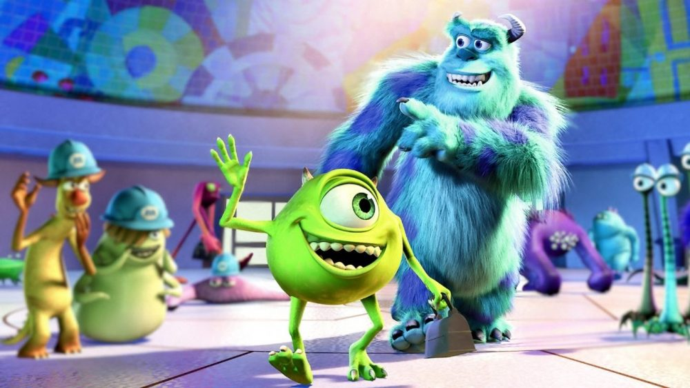 pixar movies monsters inc