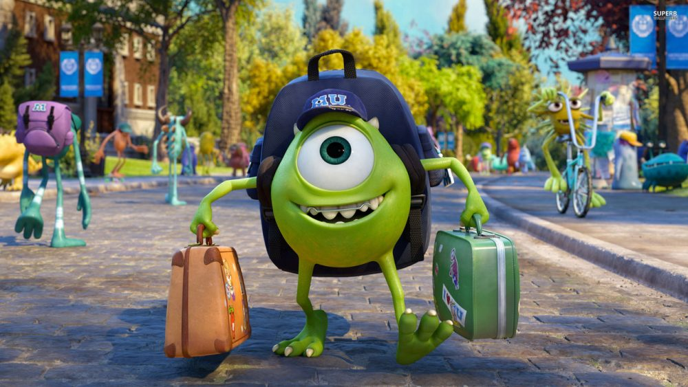 pixar movies monsters university