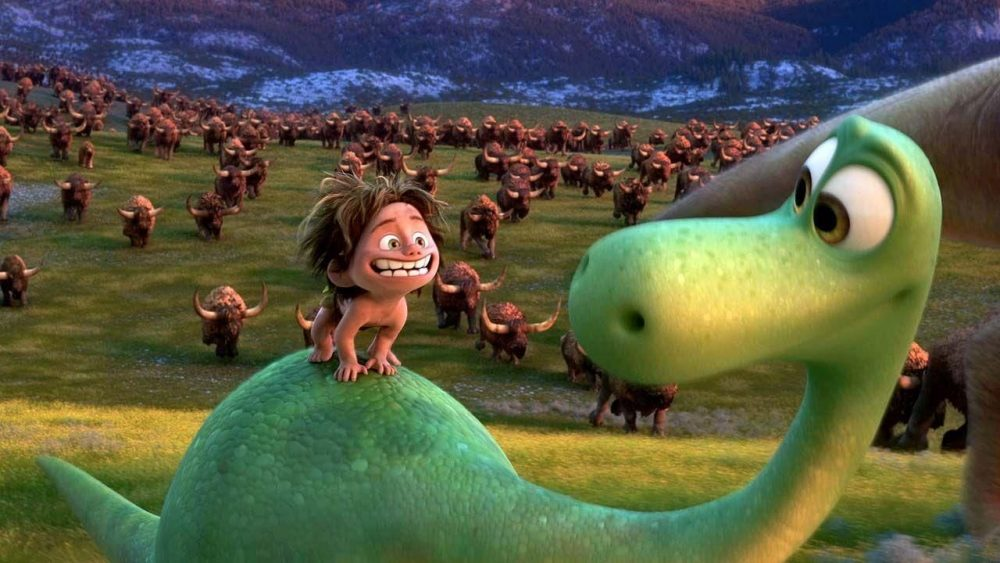 pixar movies the good dinosaur