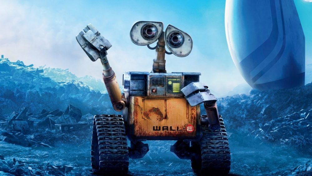 pixar movies walle