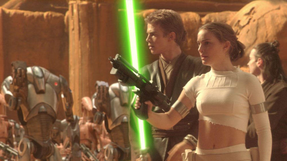 star wars movies attack of the clones