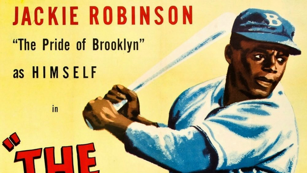 Robinson broke the color barrier in MLB.
